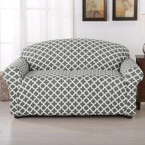 Brenna Box Cushion Loveseat Slipcover