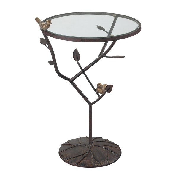 Despres Birds On A Branch Accent Table by August Grove