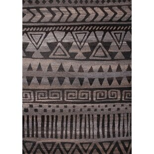 Best Brogden Dark Gray/Beige Area Rug By Foundry Select