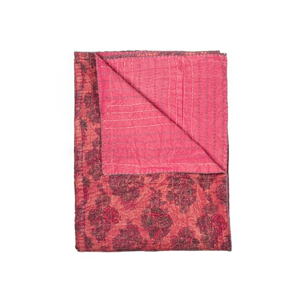 Ponte Vintage Cotton Throw by Bungalow Rose