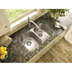 Moen 1800 Series Double Bowl Kitchen Sink