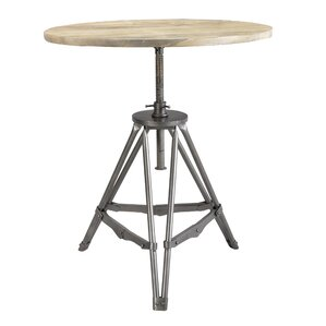 Eiffel Round Industrial Dining Table by Caribou Dane