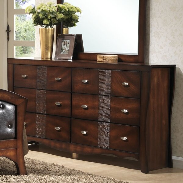 Northlake 6 Drawer Double Dresser by Darby Home Co