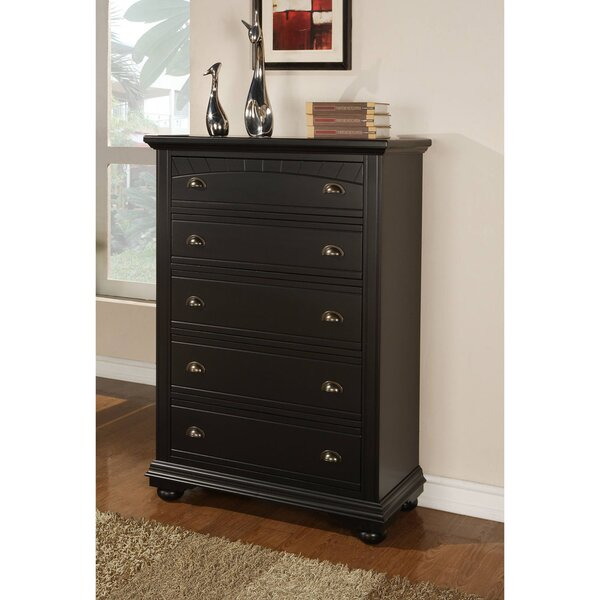 Herren 5 Drawer Chest by Alcott Hill