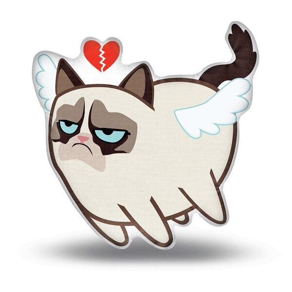 Broken Heart Angel Throw Pillow by LiLiPi