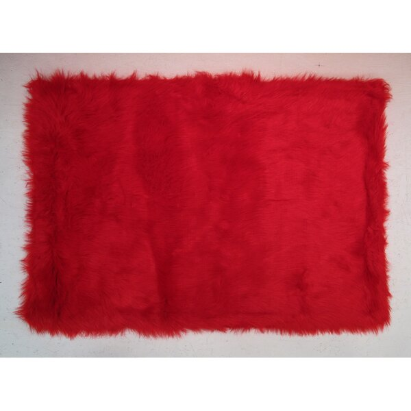 Red Kids Rug by Fun Rugs