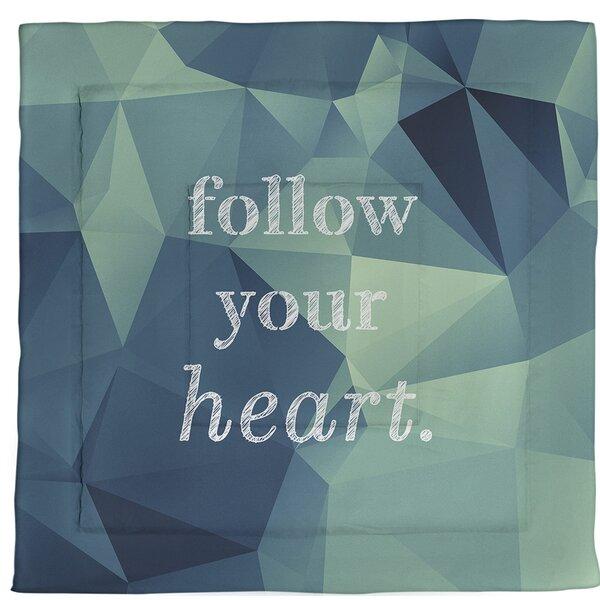 Heart Single ReversibleComforter