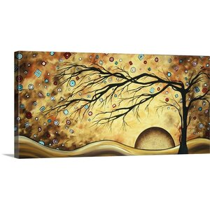 'Diamond Jubilee' by Megan Duncanson Graphic Art on Wrapped Canvas by Great Big Canvas