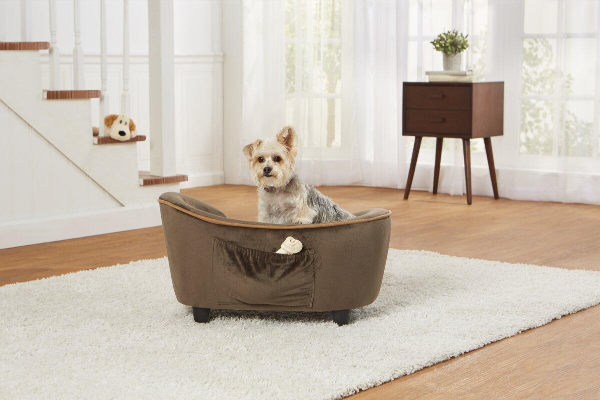 Enchanted Home Pet Ultra Plush Snuggle Dog Sofa & Reviews