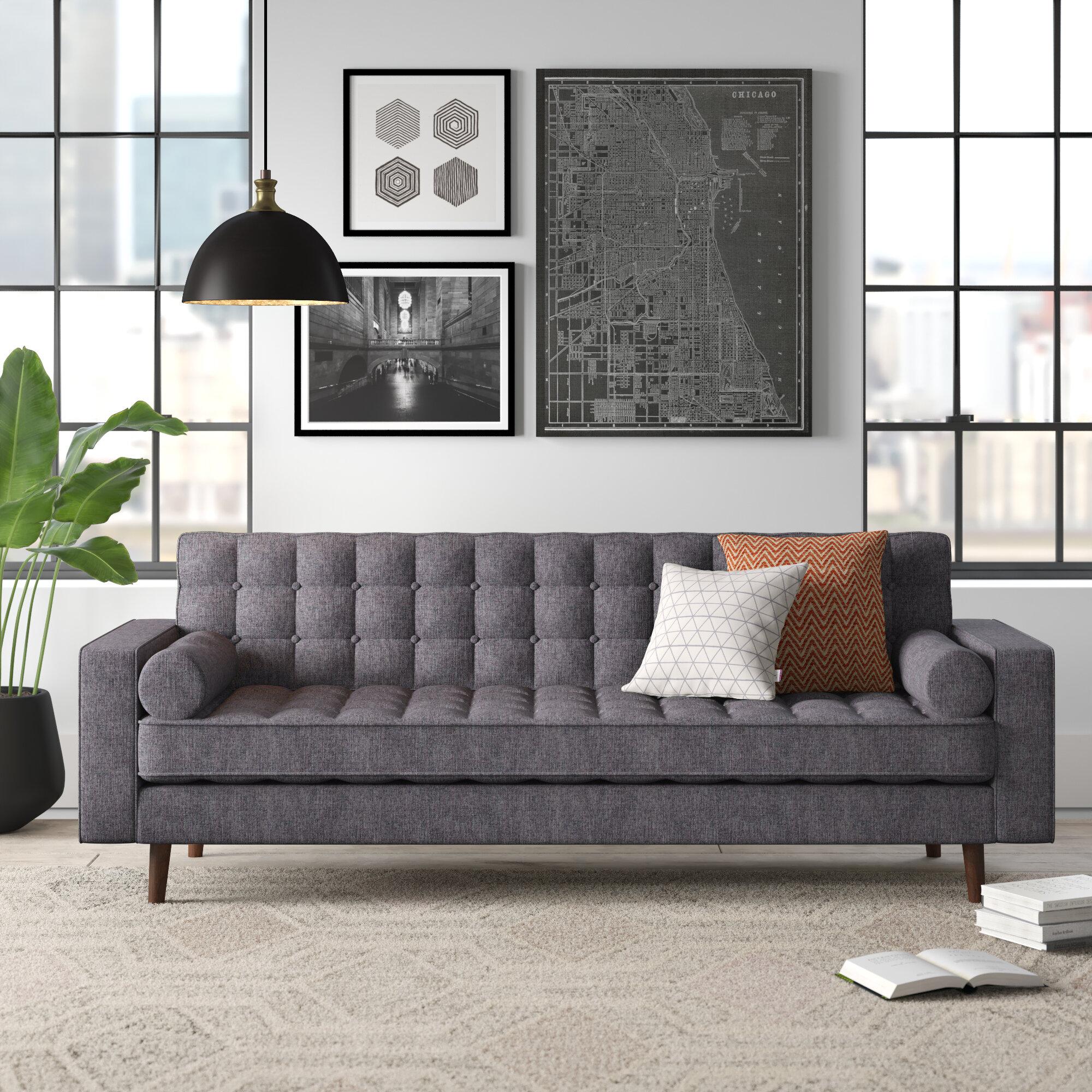 Gilbert Square Arm Sofa Reviews