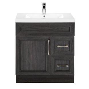 Bargain Classic 30 Single Vanity Bathroom Vanity Set ByCutler Kitchen & Bath