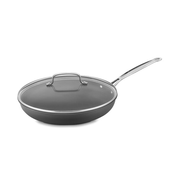 12 Non-Stick Skillet with Lid by Cuisinart
