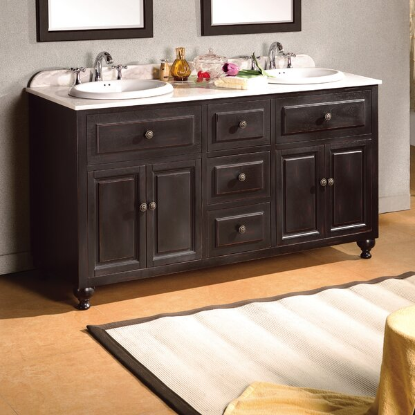 Kensington 60 Double Bathroom Vanity Set by Ove Decors