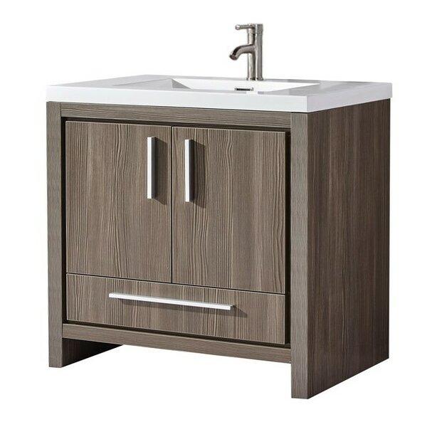 Peiffer Modern 35 Single Bathroom Vanity Set by Orren Ellis