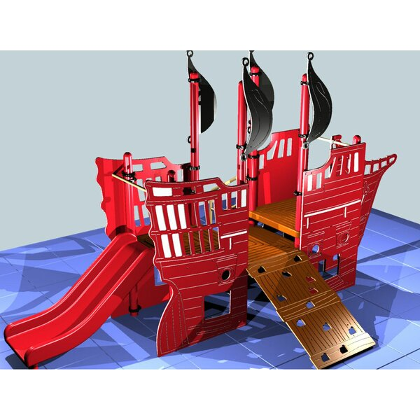 Kidvision Pirate Ship by Kidstuff Playsystems, Inc