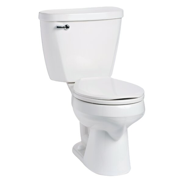 Summit 1.28 GPF Round Two-Piece Toilet by Mansfield Plumbing Products