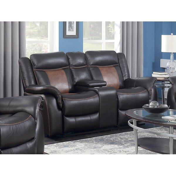 Top Offers Monica Reclining Loveseat by Red Barrel Studio by Red Barrel Studio