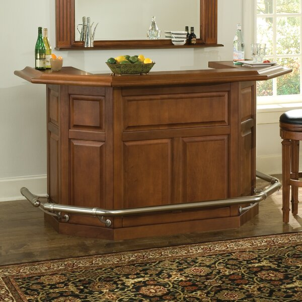 Augusta Bar with Wine Storage by American Heritage