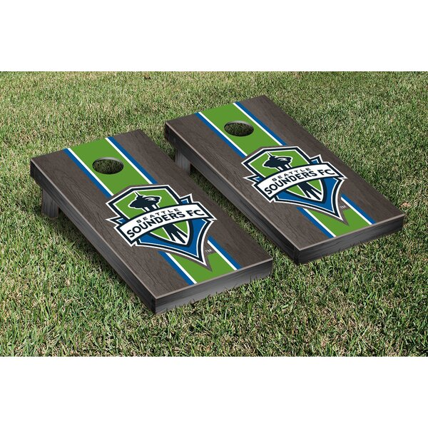 MLS Stained Stripe Version Cornhole Game Set by Victory Tailgate