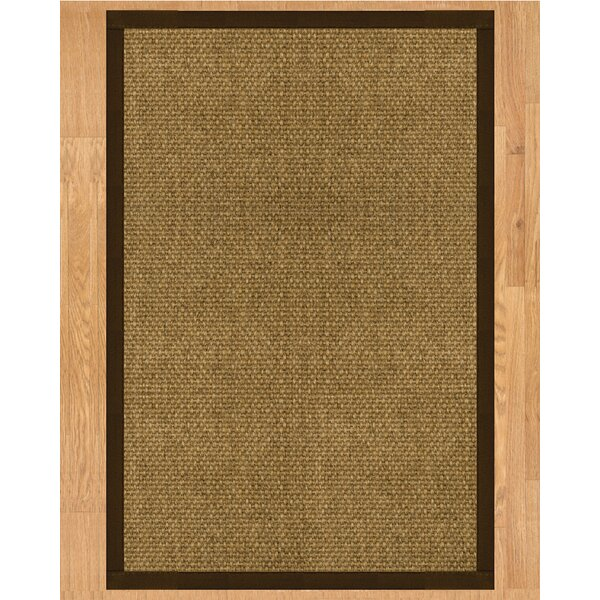 Karis Hand Crafted Fudge Area Rug by Natural Area Rugs