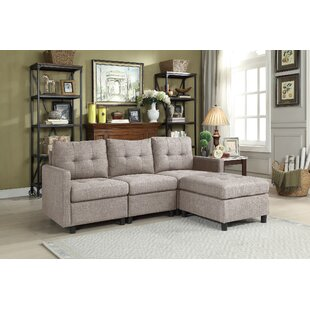 Roxy Modular Sectional with Ottoman Brayden Studio