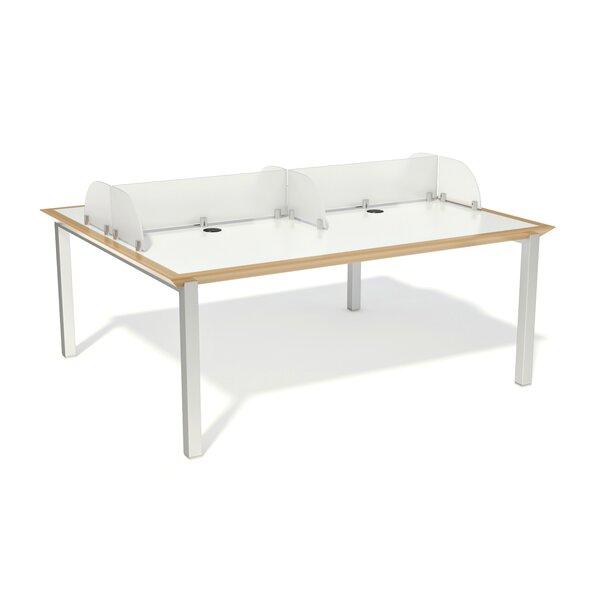 Fluid Laminate Manufactured Wood 29 Multi-Student Desk by Palmieri