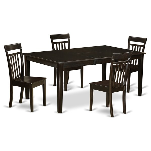 Lindstrom 5 Piece Dining Set by Red Barrel Studio