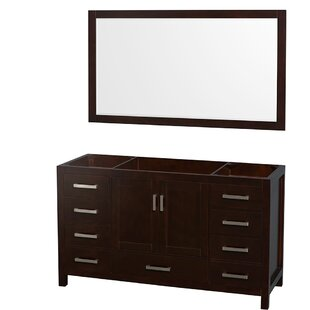 Sheffield 59 Single Bathroom Vanity Base Only ByWyndham Collection