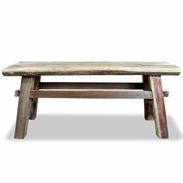 Nella Wood Bench by Millwood Pines