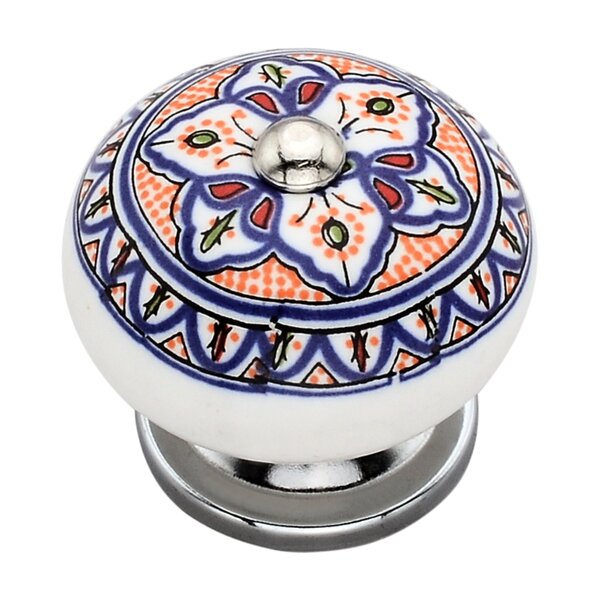 Handpainted Tortuous Round Knob (Set of 8) by Mascot Hardware