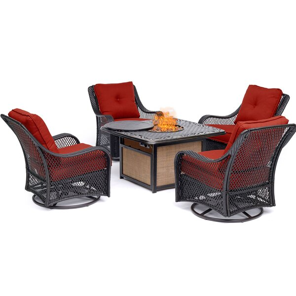 Innsbrook 5 Piece Multiple Chairs Seating Group by Alcott Hill