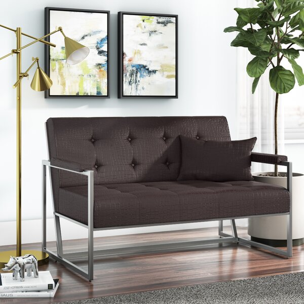 Stay On Trend This Millie Loveseat by Wade Logan by Wade Logan
