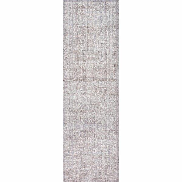 Dorothea Oriental Gray Area Rug