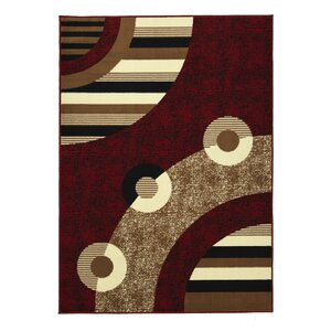 Clifton Red Area Rug