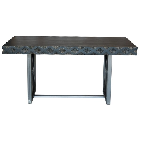 Muir Solid Wood Dining Table by Wrought Studio Wrought Studio