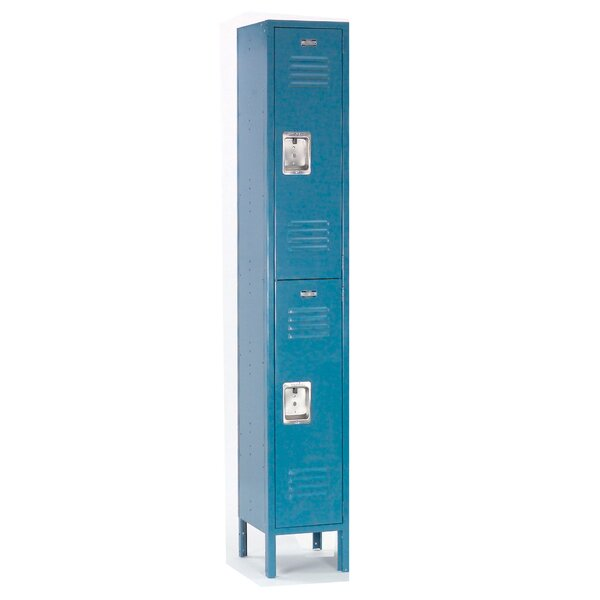 2 Tier 1 Wide School Locker by Nexel