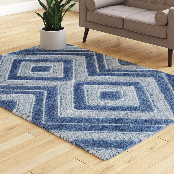 Wideman Blue Area Rug by Wrought Studio