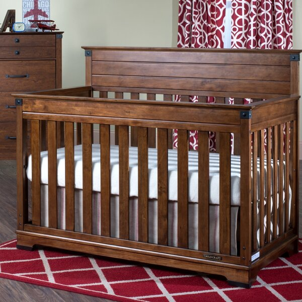 Redmond 4-in-1 Convertible Crib by Child Craft