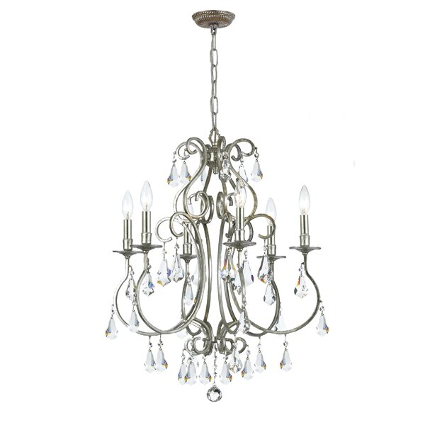 Shaughnessy 6-Light Candle Style Chandelier by Astoria Grand