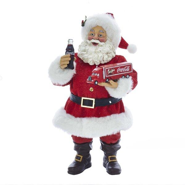 Santa with Coca-Cola Truck Figurine by Kurt Adler
