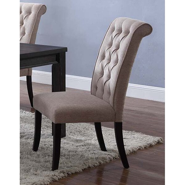 Sibert Upholstered Dining Chair (Set of 2) by Charlton Home