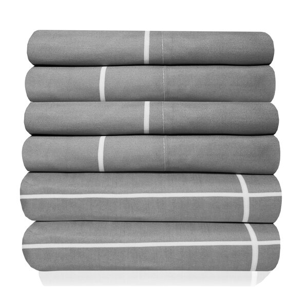 Newt Egyptian Quality Window Pane Microfiber Sheet Set by The Twillery Co.