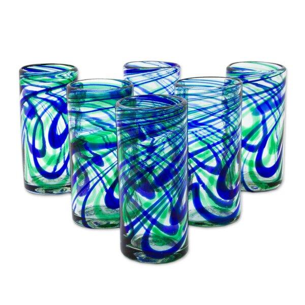 Wilborn Elegant 11 oz. Highball Glasses (Set of 6) by Latitude Run