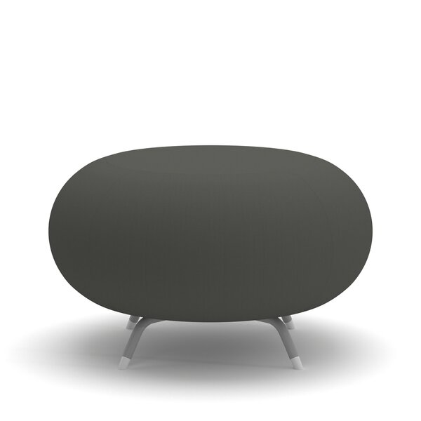 Pebble Round Ottoman by Allermuir
