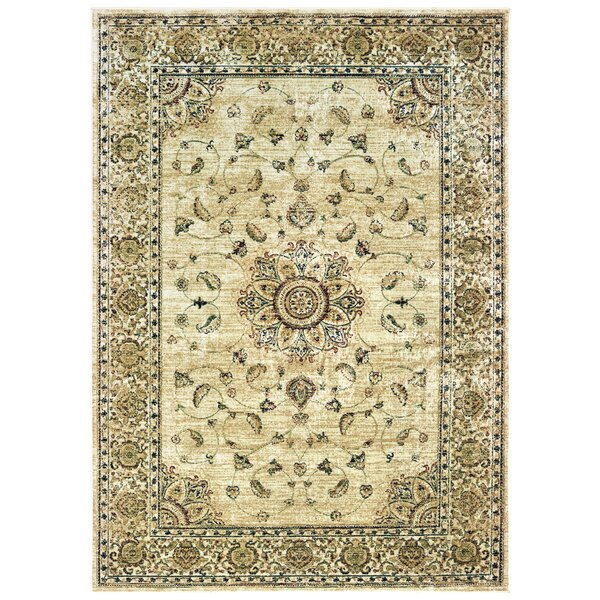 Jerrod Ivory Area Rug by Charlton Home