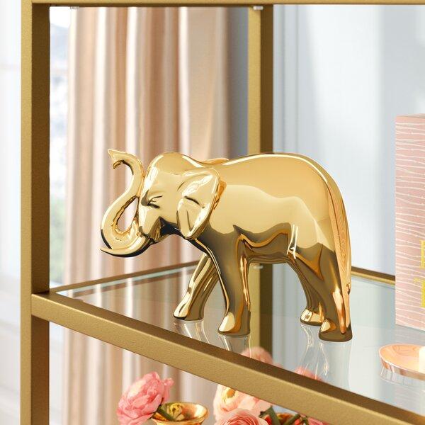 Rozell Elephant Figurine by Mercer41