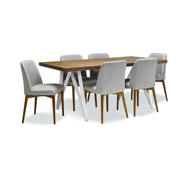 Hagen 7 Piece Dining Set by Brayden Studio