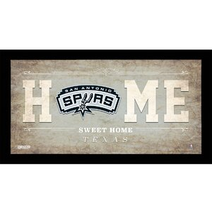 Home Sweet Home Framed Graphic Art by Steiner Sports