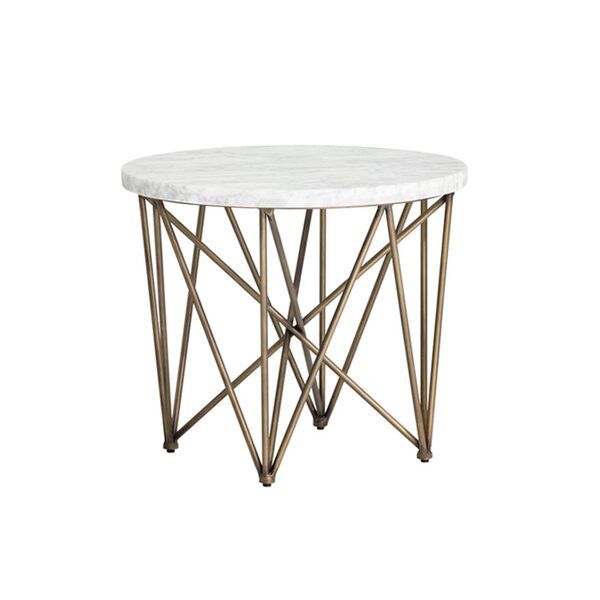 Dickenson End Table By Everly Quinn