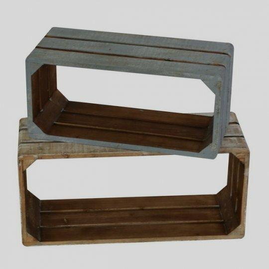 Croker Wooden 2 Piece Wall Shelf Set by Rosecliff Heights